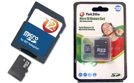 Micro SD Flash Memory